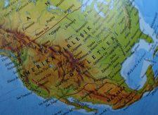 Nordamerika: Karta