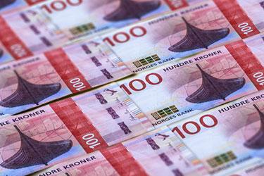 Norska 100 kr sedlar
