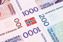Norska kronor: 200 kr och 1000 kr