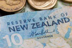 NZ Dollar - sedlar & mynt