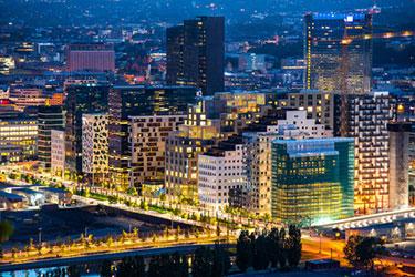Oslo på natten