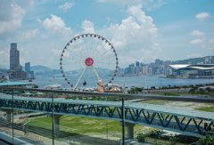 Pariserhjul i Hong Kong Central