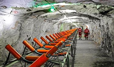 Platinum gruva i Sydafrika