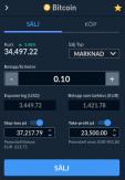 Sälja Bitcoin hos Skilling