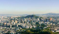Seoul från ovan