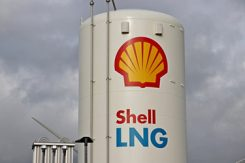 Shell oljefabrik
