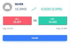 Silver trading via Skilling