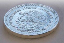 Silvermynt från Mexiko