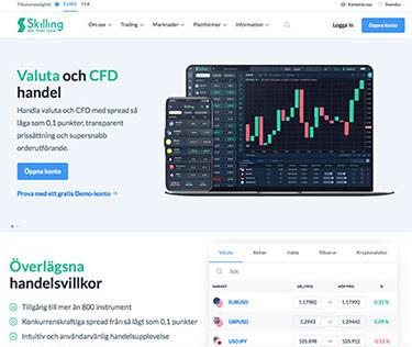 Skilling CFD-handel