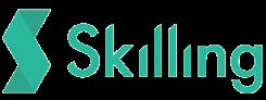 Skilling's gröna logotyp