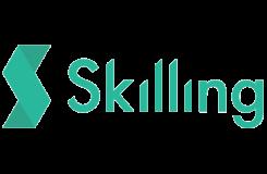 Skilling: Grön logo från 2020