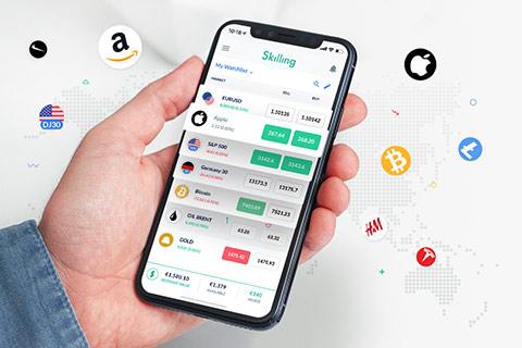 Skilling mobil trading