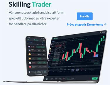 Skilling Trader plattformen