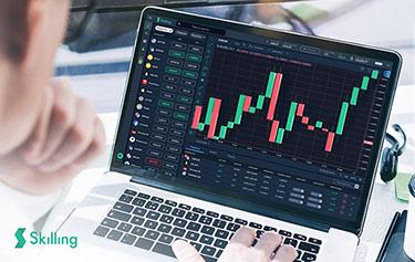 Skillings valutahandel genom nya plattformen på Apple dator