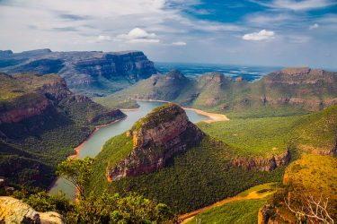 Sydafrika berg landskap