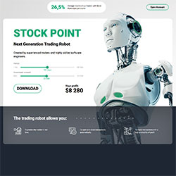Stockpoint's trading robot