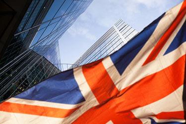Storbritannien flagga - 375 pixlar