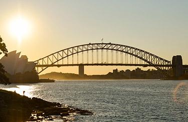 Sydney: Kvällsutsikt