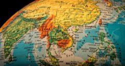 Sydöstra Asien: En karta