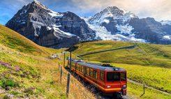 Tåg i Schweiz