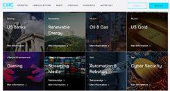 CMC Market olika tematiska aktiekorgar