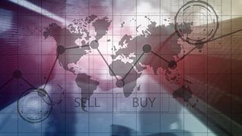 Tider för att handla valuta: Karta över världen