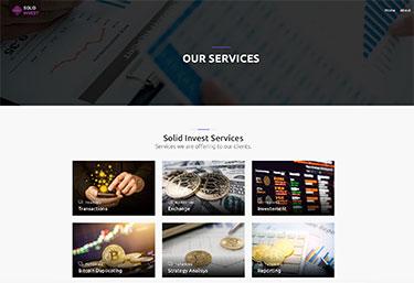Tjänster från Solid Invest