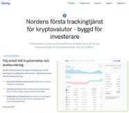 Tracking för krypto-trading