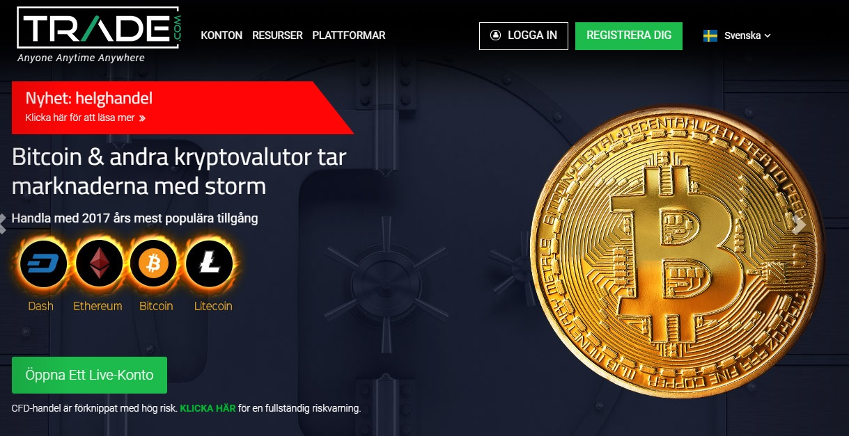 bästa valutamäklarna online