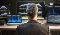 Trader aktiemarknaden
