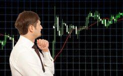 Trader Watching Graphs