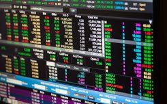Trading skärm med valutahandel