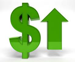 dollar på väg upp