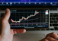 Valutahandel på mobilen