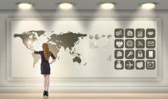 Valutamarknaden - karta över världen