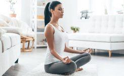 Yoga i vardagsrummet