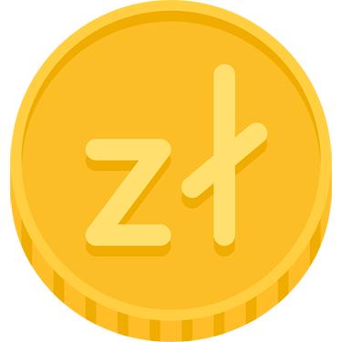 Symbol för polska zloty
